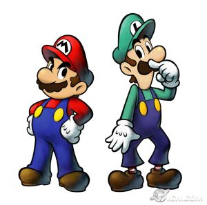 all italians have mustaches and are plumbers. ITS SCIENCE.