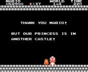 mario should just make toad his bride. there, case closed.