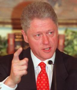 I had to leave my AOL chatroom to watch Bill Clintons address. ITS THE 90's!!