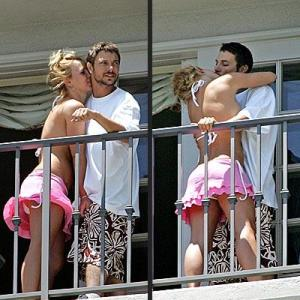 im pretty sure whenever britney talked kevin just heard a cash register opening and closing.