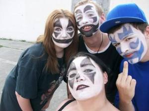 except these four. They're like the Juggalo version of the Beatles. SO dreamy