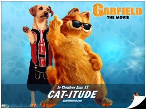 wait, why is Garfield CGI but Odie isn't? GODDAMN IT
