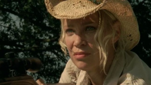 For the last time Andrea, you are not pulling off that cowboy hat. TAKE IT OFF.