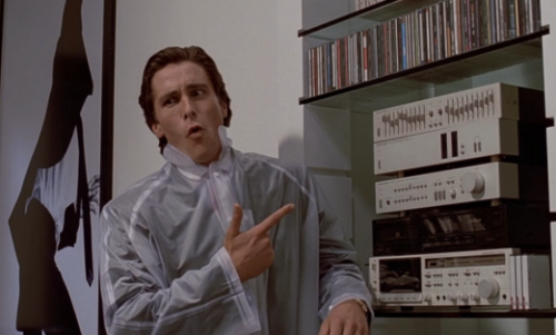 """Ana. I don't want you listening to Huey Lewis and the News, his male voice is too enticing"""
